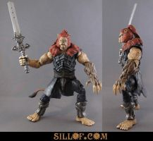 Thundercats: Lion-o re-design by sillof