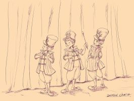 Little Three Caballeros (lough) by chacckco