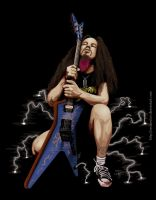 Dimebag Darrell Vector by Vectorolon