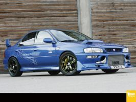 subaru impreza by Heavymedicated