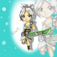 Riven Chibi for Chris by BeybladerSteph-chan