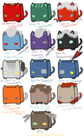 CubeCats: Custom sheet 9 by Sanza-tan