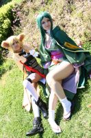 Lady Sakuya and Alicia Rue IV- Alfheim Online by KasumiVI