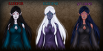 Elf Races of Medhiir by Lucille-Haden