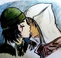 Ezio and Rosa coloured by Roberto-210296