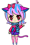 Nekomimi adopable Closed by AS-Adoptables