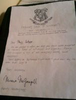 Hogwarts Acceptance Letter by Chi-Akuryou
