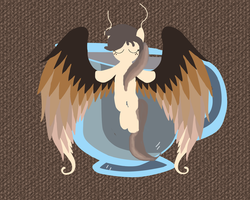Commission: Sweet Mocha the Coffee Angel by SilversThreads
