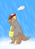 Kangaskhan - Secret Santa for omgeodude! by Alygator711