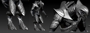 high poly arbiter armor by the-Higgins