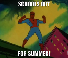 Schools out! by onyxcarmine