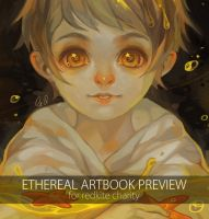 ethereal artbook preview by teacosies