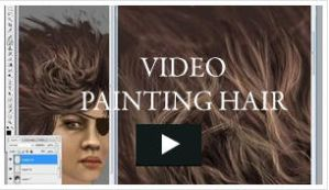 Video - Painting Hair by niraky