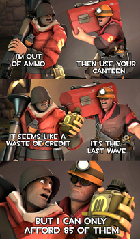 When you conserve MVM canteens just in case by AnneSQF