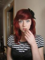 Red hair 3 by Fluffybunny29stock