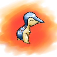 Shiny Cyndaquil by ToadsDontExist