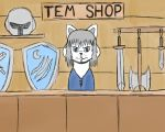 Temmie Shop ( Faction 1 ) by BlissfulBOOM