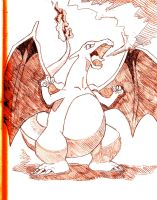 Charizard by NintendoPie
