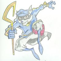 Sly Cooper by mystic-dragon