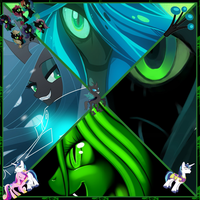 Chrysalis collage by CandyFlightTV