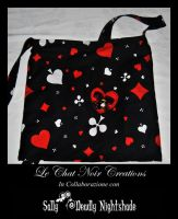 Queen Of Hearts Bag by LeChatNoirCreations