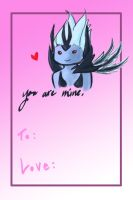 Valentine's Day Vengeful Spirit Card by Hawoot