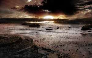 Beach by landscapepic