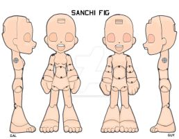 SANCHI FIG by plushabilities