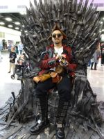 Oz Comic-Con Adelaide 2015: Iron Throne 01 by lizardman22