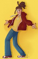 Colored sktech - Jonathan by freak-cereals