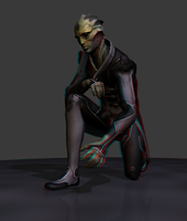 Thane - anaglyph by MichaWha