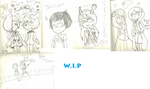 ALL THE WIPS by symphonyb