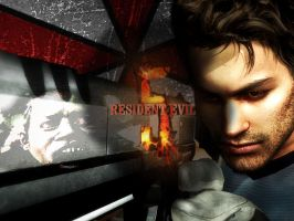 Resident Evil 5 Wallpaper by Ange-Ecarlate