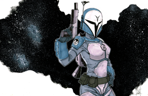 Bo Katan by Hodges-Art