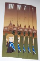 Kingdom Hearts Vexen bookmark by knil-maloon