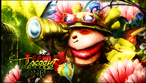 Teemo Scout by NaimGFX