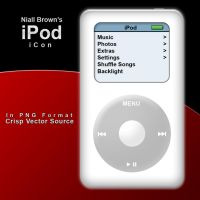iPod PNG Icons by niallabrown