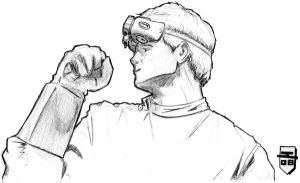 Dr. Horrible Touch-Up by jsos