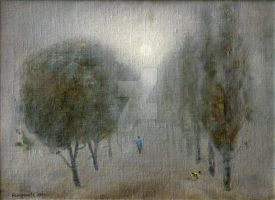 Fog by AmsterdamArtGallery