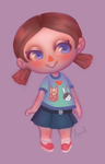 Animal Crossing: Villager by ArquinX