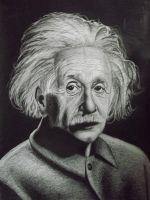 Albert Einstein 8B pencil by sudro