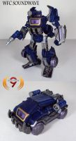 Commission- WFC Soundwave by Unicron9
