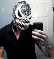 SUPERIOR VENOM MASK by symbiote-x