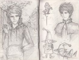Jack Frost sketches by Marnat5