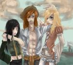 The Three Pchat Pirates by Holic-chan