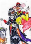 Magica and Nega Duck by theaven