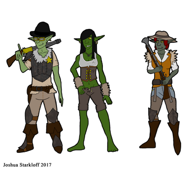 Steampunk Goblins backgroundless by TheReptilianGeneral