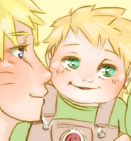 Naruto AU - What's that? by Kirabook