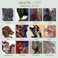 Summary of art 2012 by LiLaiRa