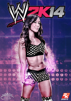 WWE 2K14 Cover feat AJ LEE by MhMd-Batista